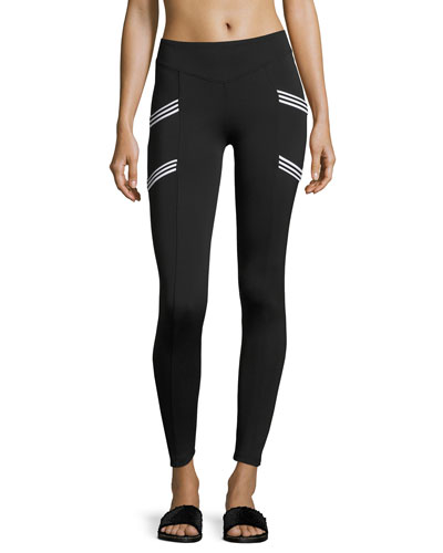Nightside High-Rise Performance Leggings, Black