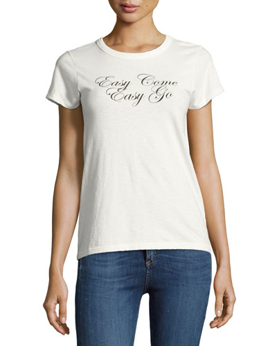 Easy Come Easy Go Cotton Tee