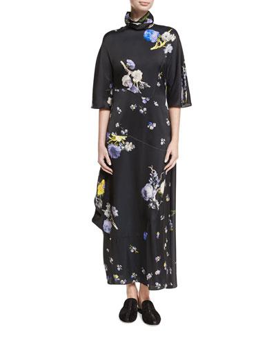 Dilona Floral-Print Maxi Dress