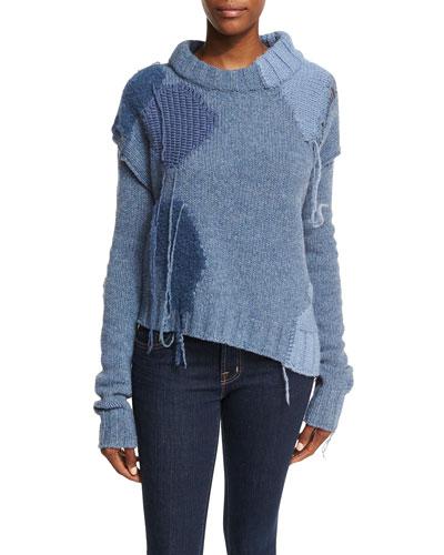 Ovira Patchwork Knit Sweater