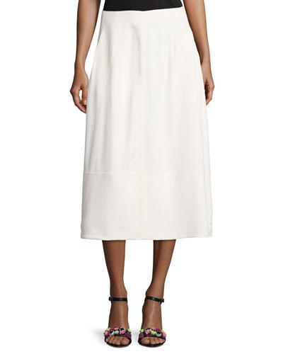 Lottie A-Line Midi Skirt