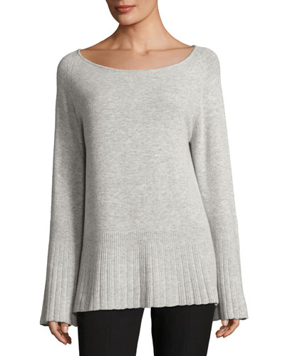 Rhett Classic Crew-Neck Cashmere Sweater