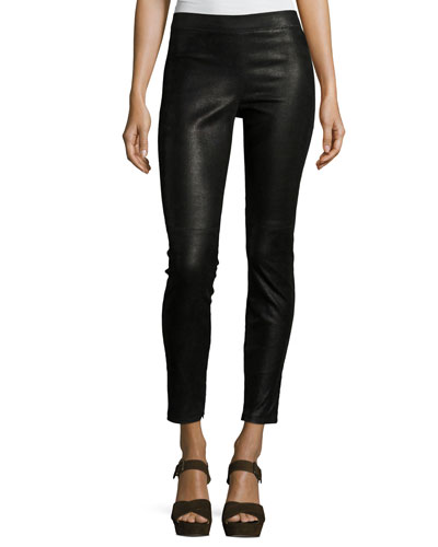 Roxanna Leather Skinny Pants