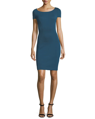 Bernice Short-Sleeve Sheath Dress