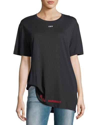 Cherry Blossom Crewneck T-Shirt