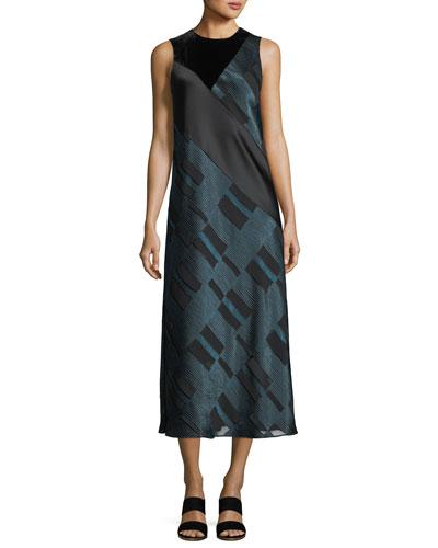 Andora Sleeveless Midi Dress