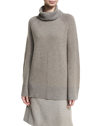 Relaxed Cashmere Turtleneck Sweater