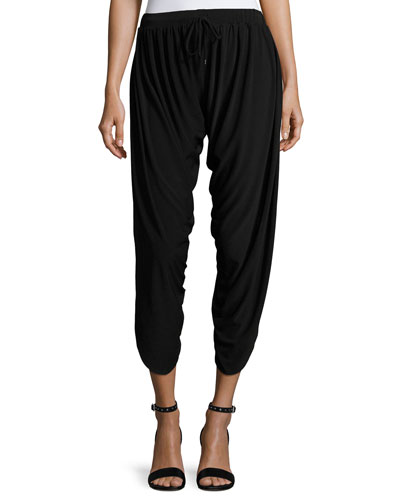 Draped Harem Pants