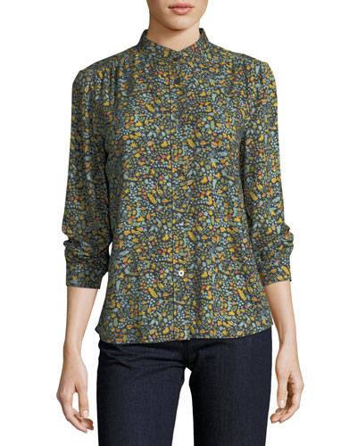 Alice Floral-Print Blouse