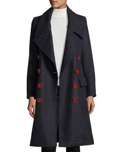 Benington Double-Breasted Wool Coat