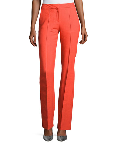 Cigarette Middle-Seam Pants