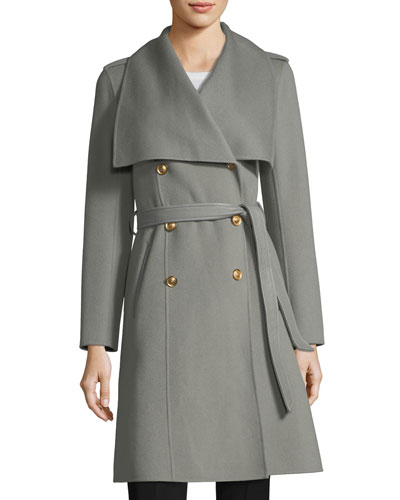 Parisa Double-Breasted Wool Coat