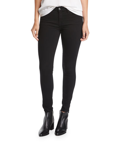 B(Air) High-Rise Ankle Skinny Jeans w/ Stirrup