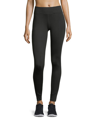 Essential High-Rise Performance Leggings, Blue