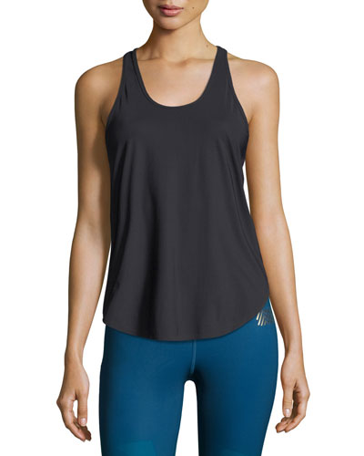 Relay Scoop-Neck Tank Top