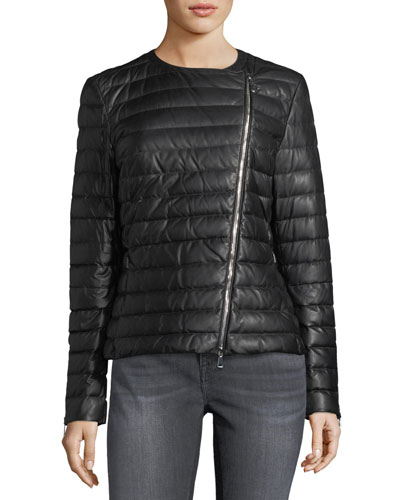 Palomete Quilted Leather Jacket