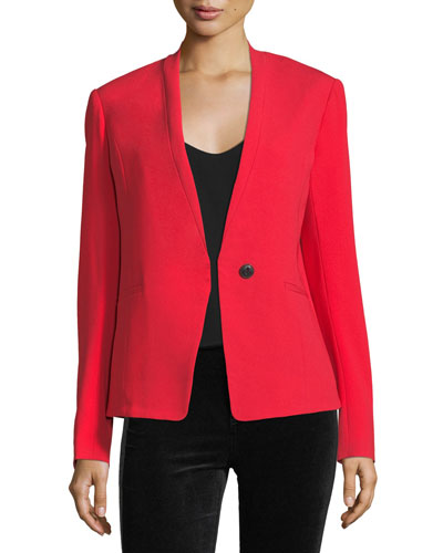 Bowman Single-Button Tailored Blazer
