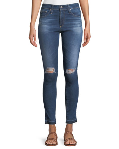 Farrah Ankle High-Rise Skinny Denim Jeans