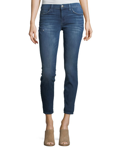The Stiletto Mid-Rise Skinny-Leg Jeans