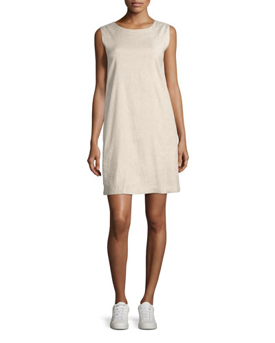 Didianne Tierra Wash Sleeveless Shift Dress