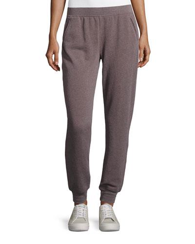 Slim Jogger Cotton-Blend Sweat Pants