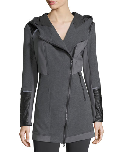 Update Traveler Zip-Front Long Jacket
