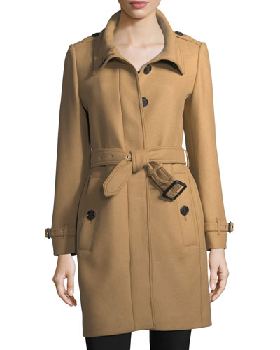 Gibbs Moores Long Trench Coat