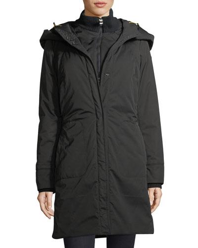 Alessami Hooded Insulated Parka Jacket