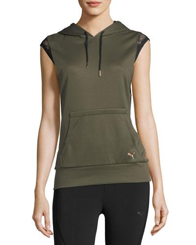Explosive Sleeveless Active Training Hoodie Sweatshirt