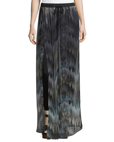 The Triple S Silk Wide-Leg Pants