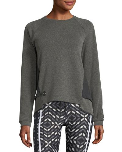 Sal Crewneck Long-Sleeve Lounge Sweater