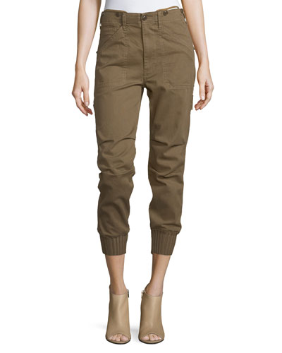 Slouchy Military Utility Pants