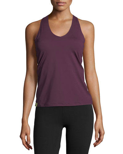 Essential V-Neck Performance Tank