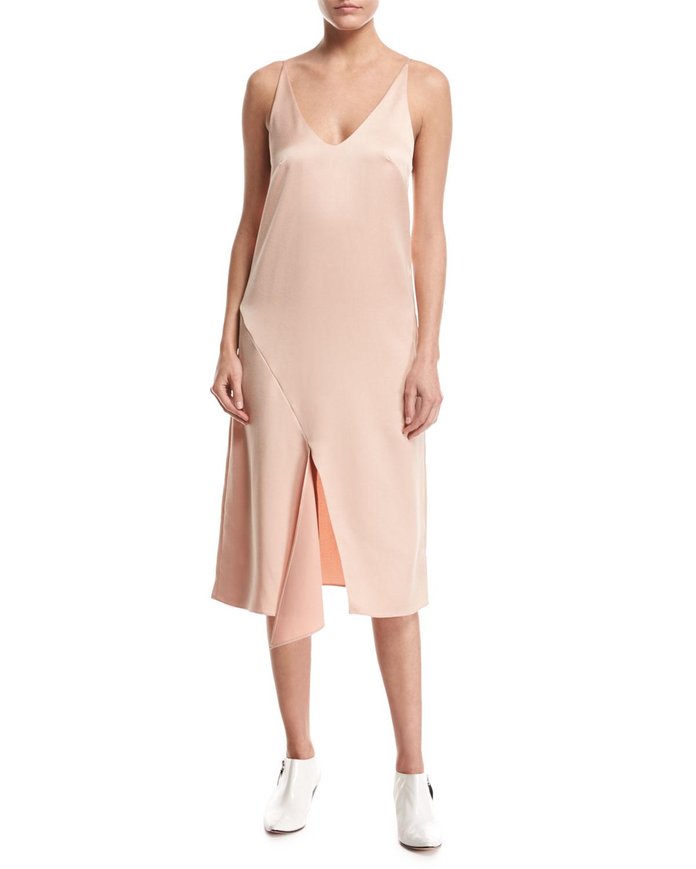 Celestial Sleeveless Slip Dress