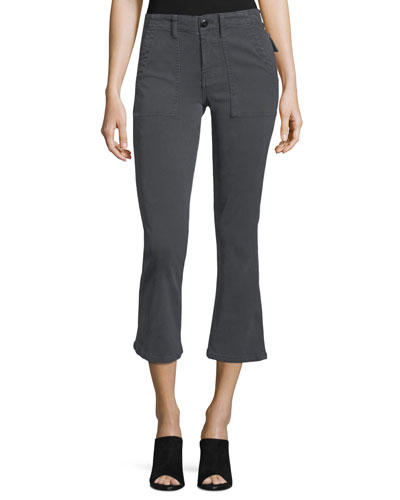 The Army Nerd Mid-Rise Stovepipe Pants