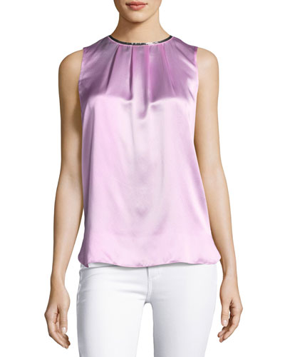 BETSY BLOUSE WITH TRIM