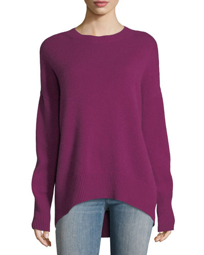 Karenia R Crewneck Cashmere Sweater