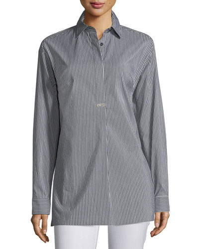 Tenley Nocturnal Striped Blouse