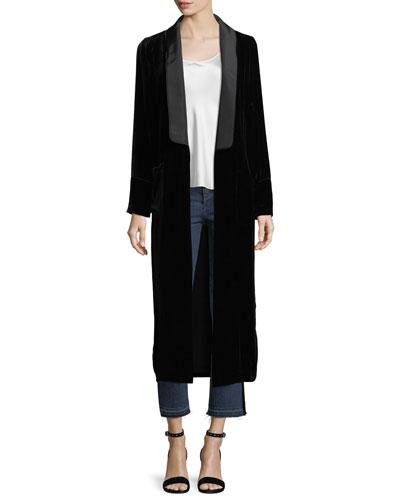 Velvet Robe Coat