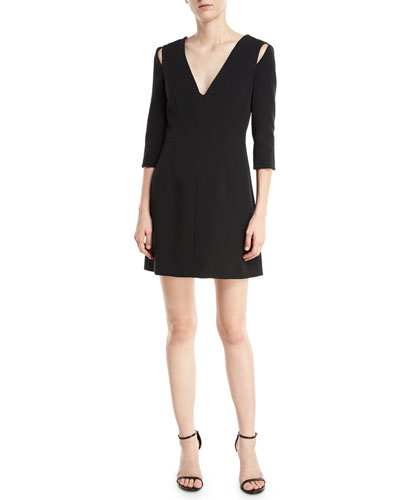 Stephanie Stretch Crepe Dress