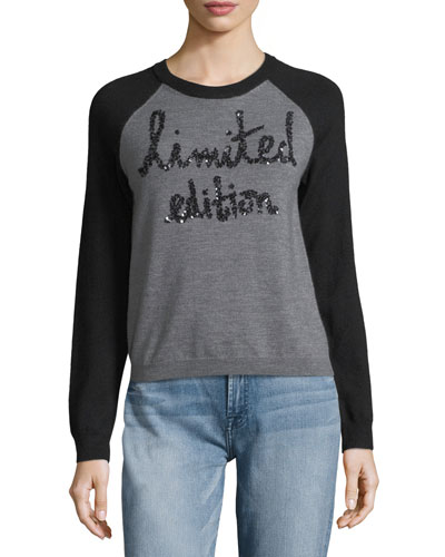 Gretta Limited Edition Raglan Pullover Sweater