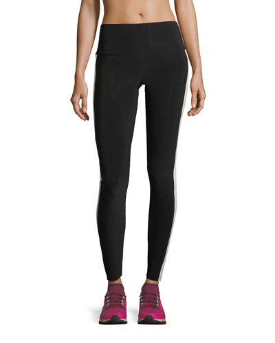 Side-Stripe Sport Leggings