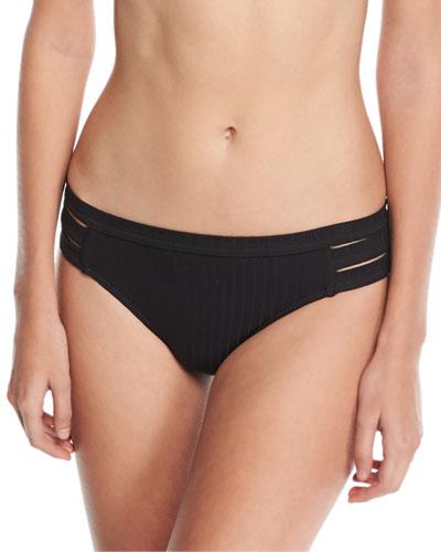 Inka Ribbed Hipster Swim Bikini Bottom