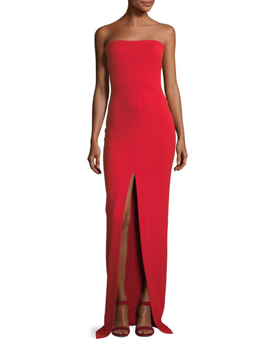 Bysha Strapless Maxi Dress
