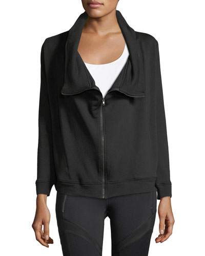 Soothe Zip-Front Fleece Jacket