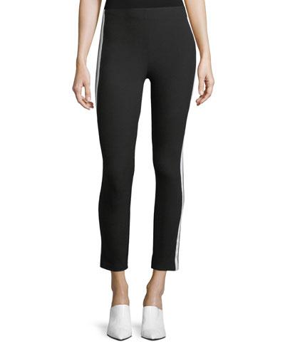 Simone Side-Stripe Skinny Pants