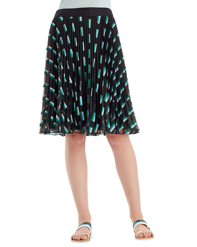 Fil Coupe A-Line Skirt