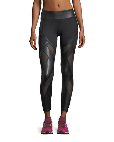Allegiance Paneled Leggings