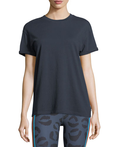 Acapulco Crewneck Short-Sleeve Cotton Tee