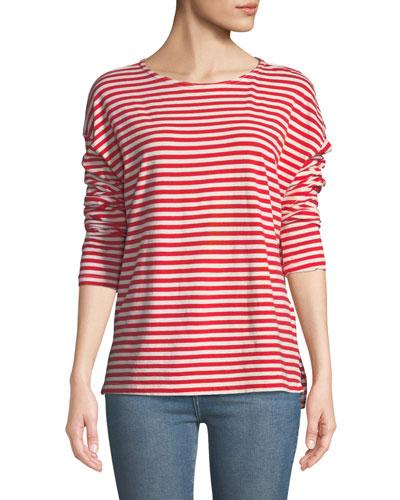 The Breton Cotton Long-Sleeve T-Shirt